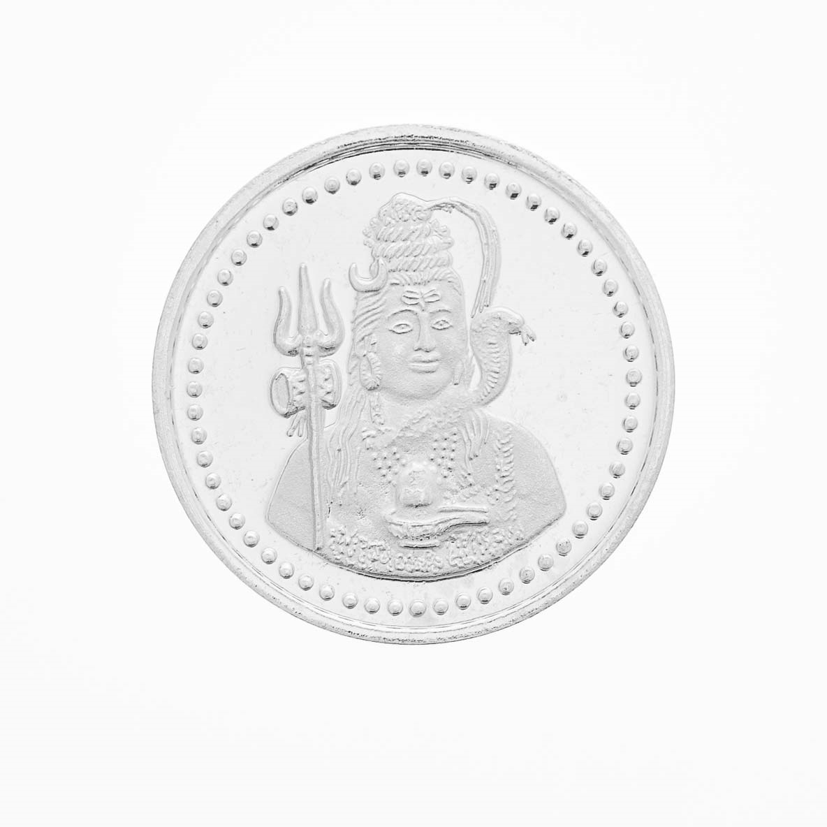 Picture of Silver Shiv Coin SSC1016
