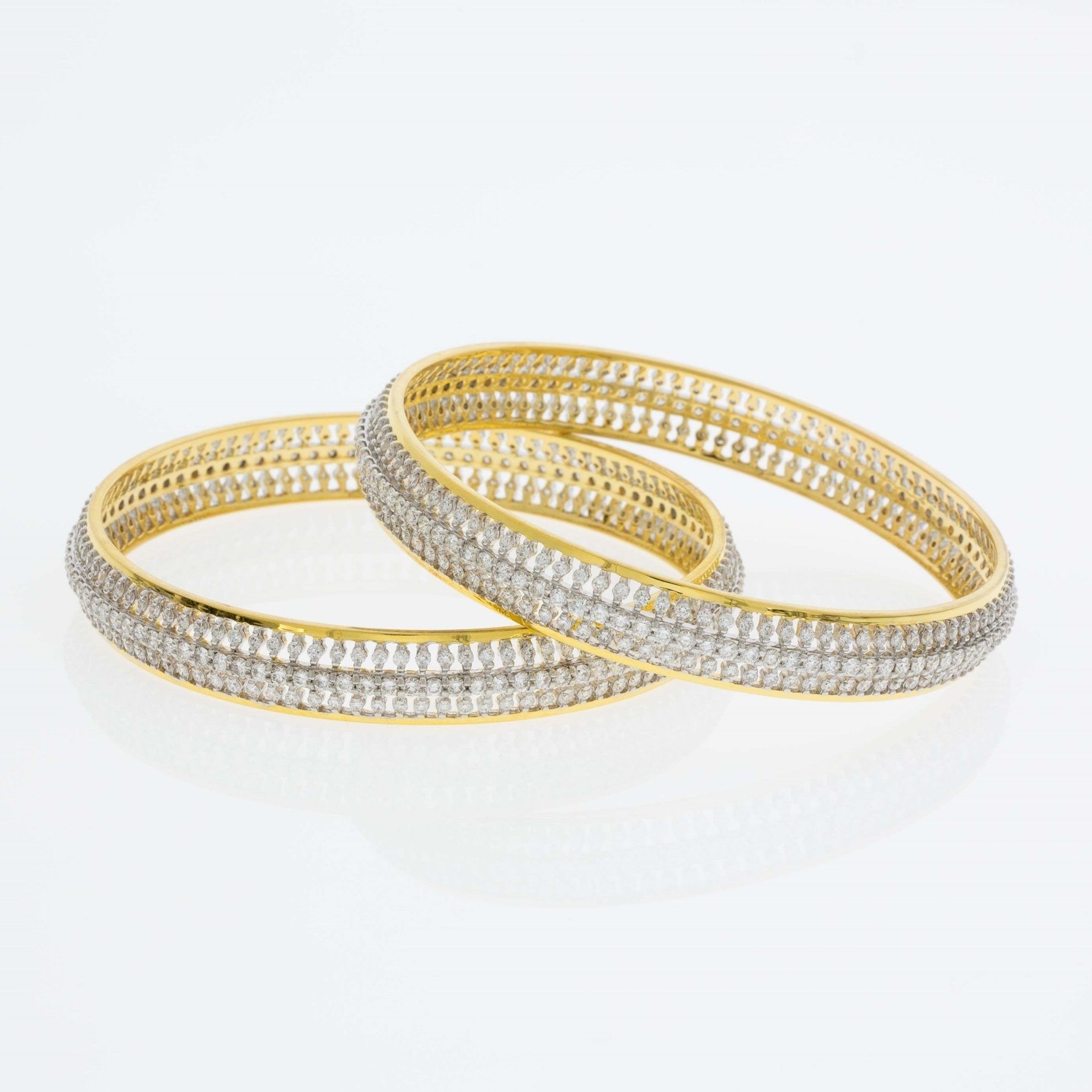 Picture for category Diamond Bangles
