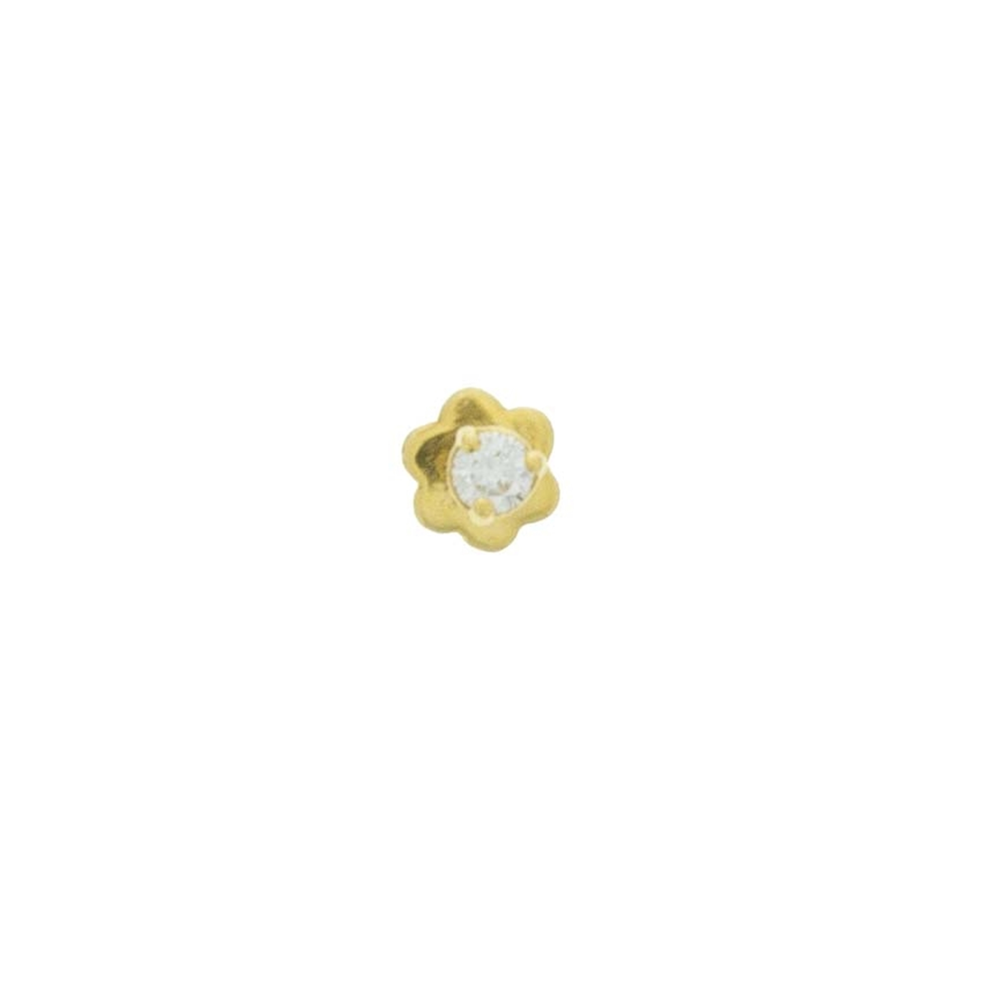 Regal Jewels Inc 18kt Gold Diamond Nosepin Online Indian Gold