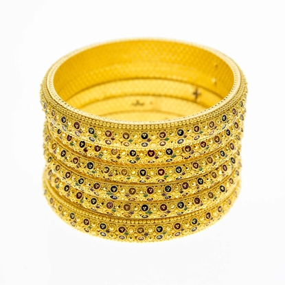 Picture of 6 Piece Bangle Set