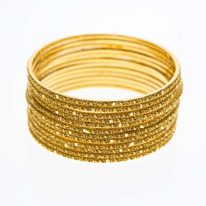 Picture of 12 Piece Bangle Set