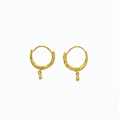 Picture of Gold Hoop Earring