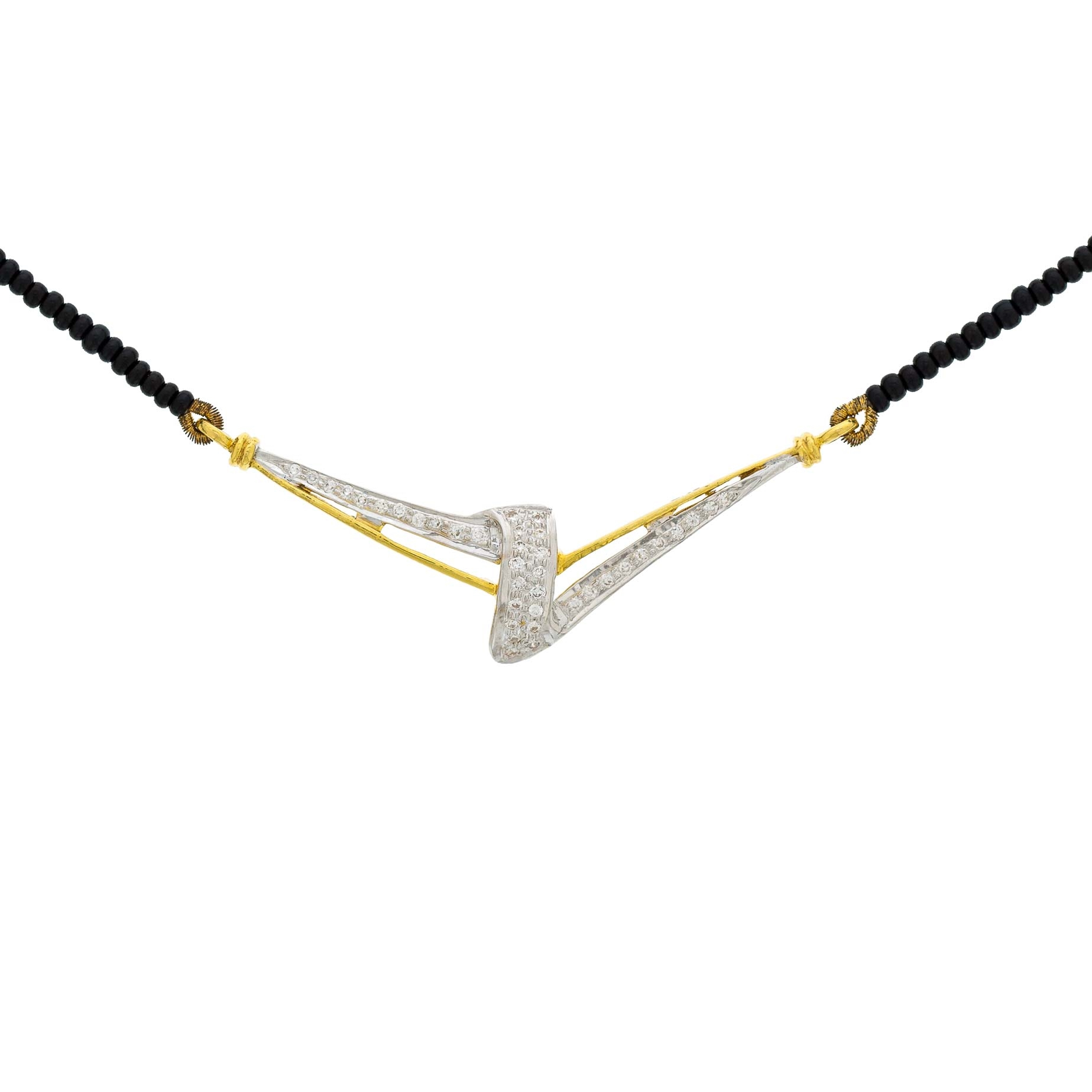 Picture of Diamond Mangal Sutra DMS1012