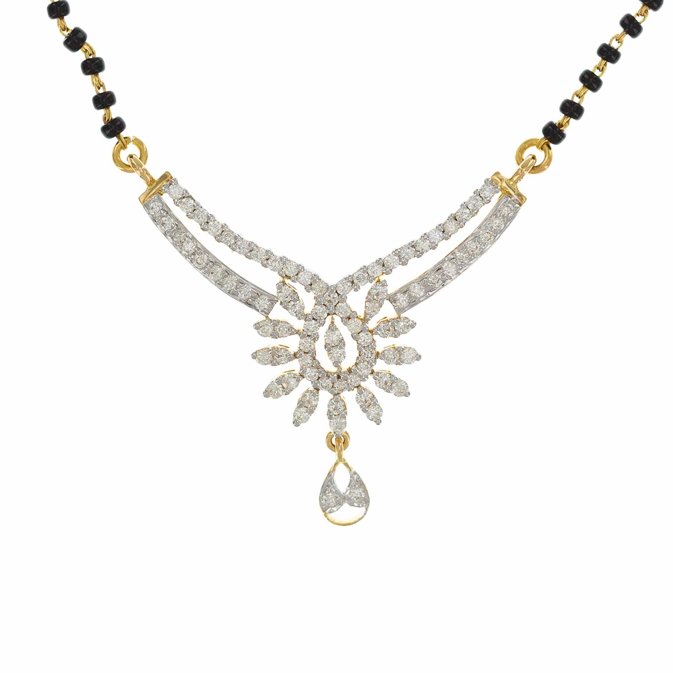 Picture of Diamond Mangal Sutra DMS1037