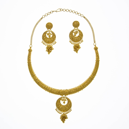 Picture of Gold Hasli Set