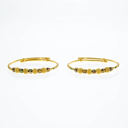 Picture of Gold Baby Bangle