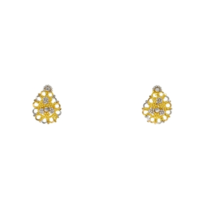 Picture of Gold Stud Earring