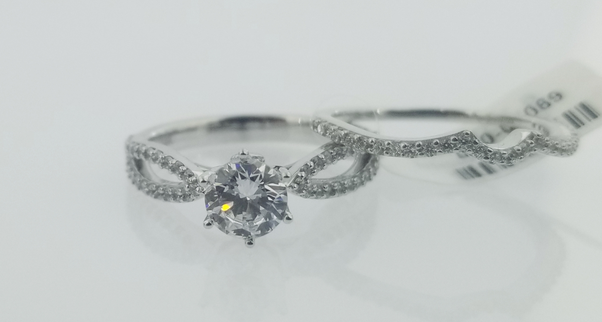 Picture of Bridal Set Rings RBS1033