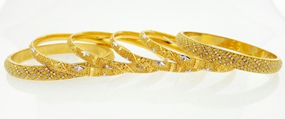 Picture of 6 Piece Bangles BSX1183