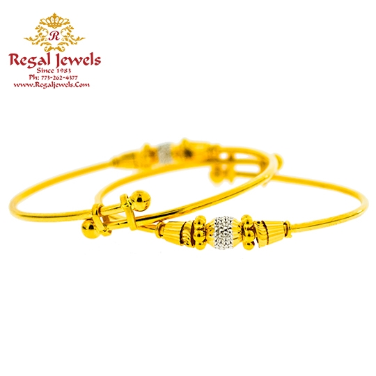 Picture of Pair Baby Bangle BBB2025