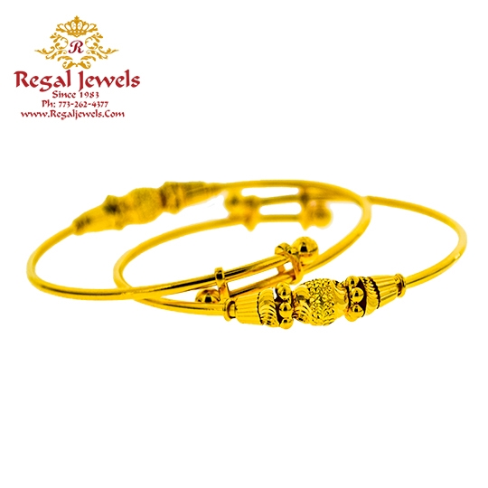 Picture of Pair Baby Bangle BBB2027