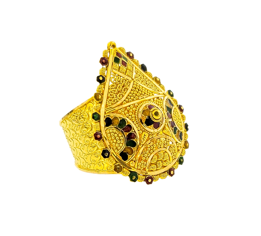 Picture of Meena Ring 22kt Gold RPG2019