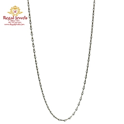 Picture of 18KT White Gold Chain CKT2009