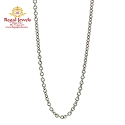 Picture of 18KT White Gold Chain CKT2010