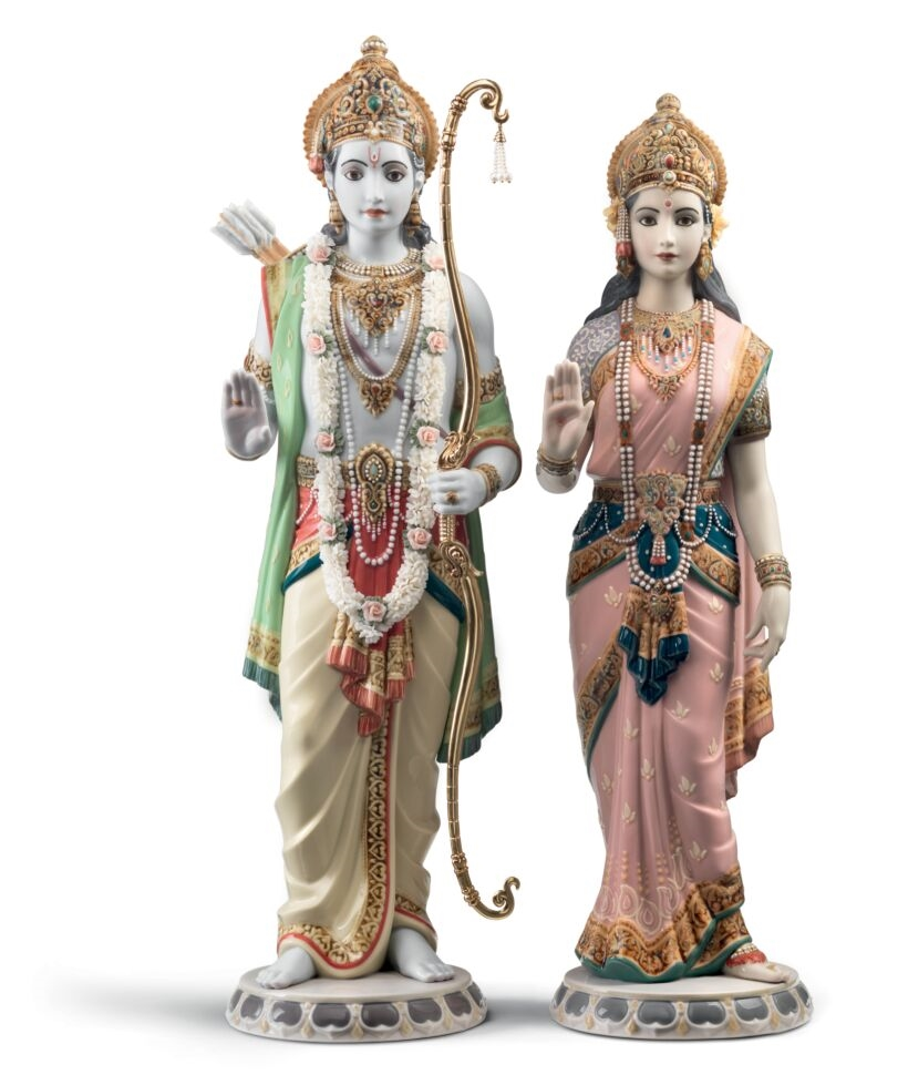 Picture of Rama and Sita Sculpture. Limited Edition Regal LL-01001963