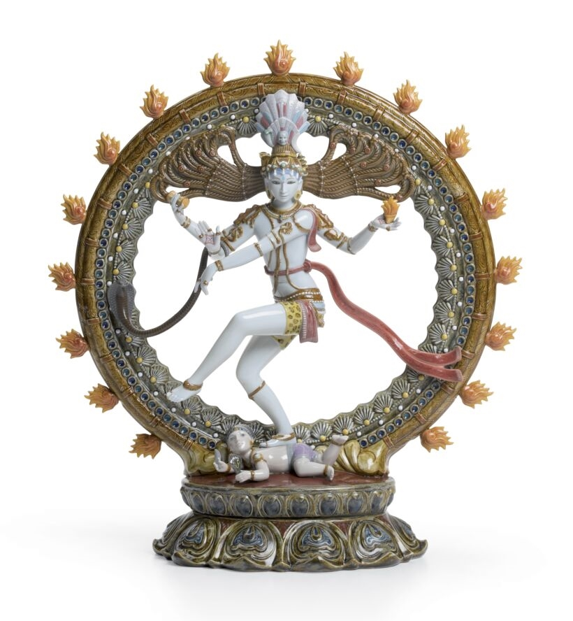 Picture of Shiva Nataraja Sculpture. Limited Edition Regal LL-01001947