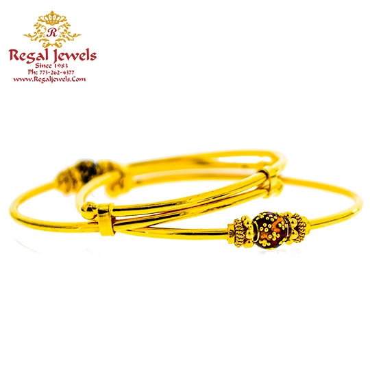 Picture of Pair Baby Bangle BBB2016