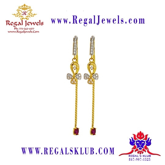 Picture of 22kt Gold Earring BFD2017