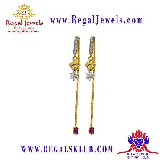 Picture of 22kt Gold Earring BFD2019