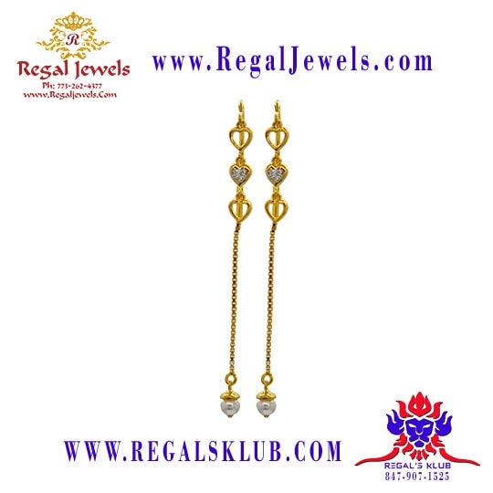Picture of 22kt Gold Earring BFD2020