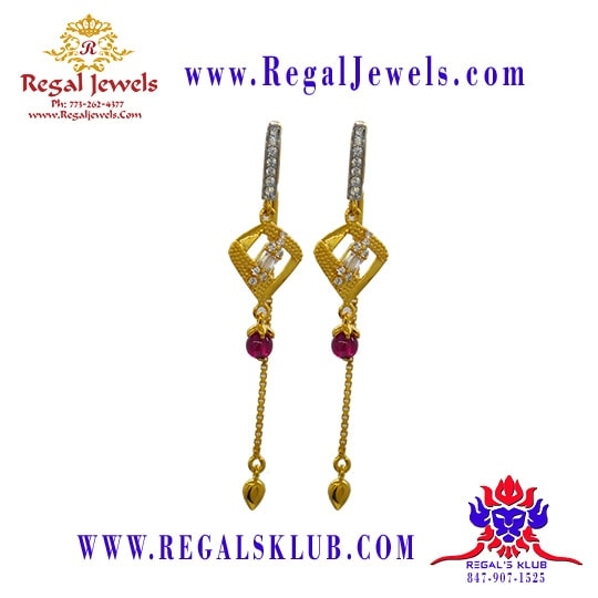 Picture of 22kt Gold Earring BFD2021