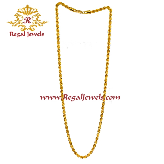 Picture of 22kt Gold Chain CPG2086