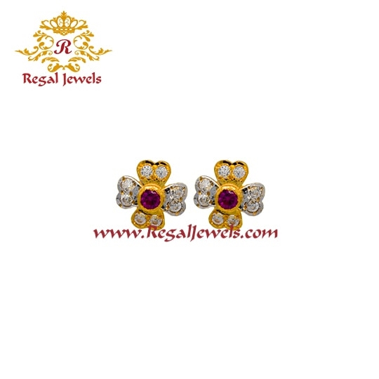 Picture of 22kt Gold Tops/Earrings ETO2081
