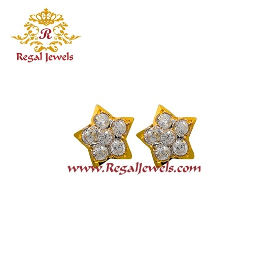 Picture of 22kt Gold Tops/Earrings ETO2082