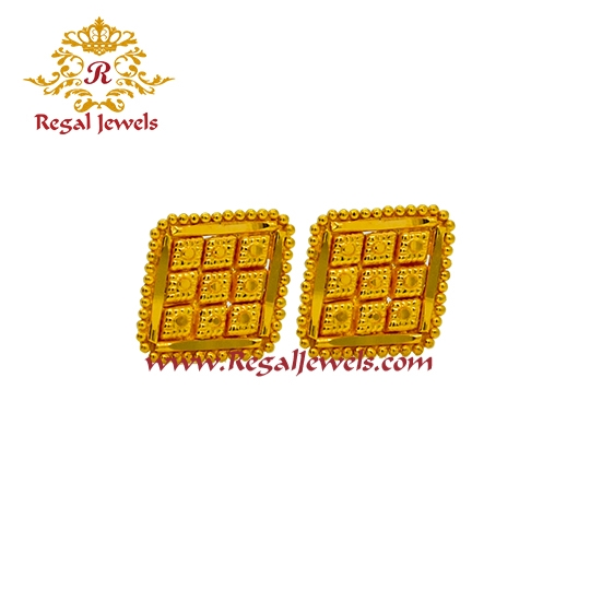 Picture of 22kt Gold Tops/Earrings ETO2058