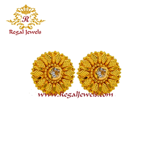 Picture of 22kt Gold Tops/Earrings ETO2060