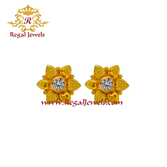 Picture of 22kt Gold Tops/Earrings ETO2061