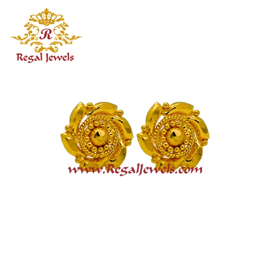 Picture of 22kt Gold Tops/Earrings ETO2062