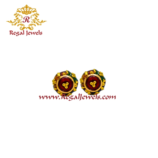 Picture of 22kt Gold Tops/Earrings ETO2065