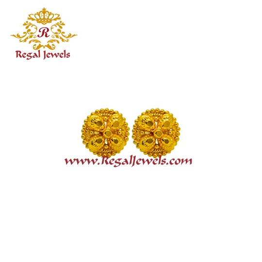 Picture of 22kt Gold Tops/Earrings ETO2067