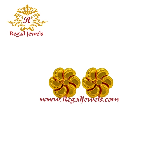 Picture of 22kt Gold Tops/Earrings ETO2068