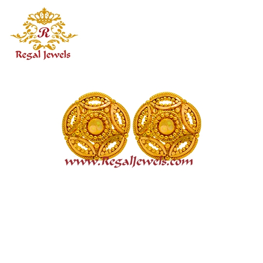 Picture of 22kt Gold Tops/Earrings ETO2069