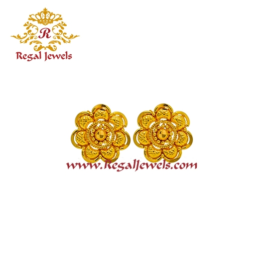 Picture of 22kt Gold Tops/Earrings ETO2070