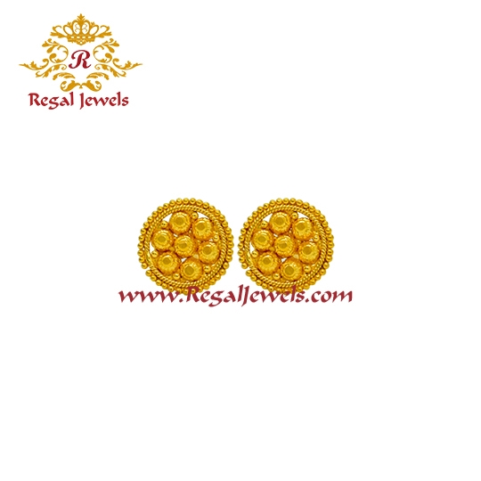 Picture of 22kt Gold Tops/Earrings ETO2071
